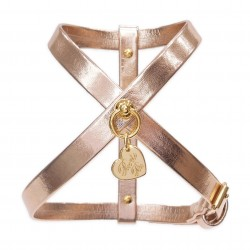 SIMPLE HARNESS ROSE GOLD...
