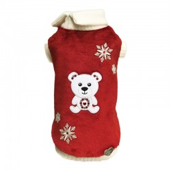 POLAR TEDDY RED CHENILLE
