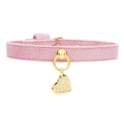 SIMPLE COLLAR MAGIC PINK/GOLD