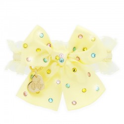 RAINBOW BOW COLLAR YELLOW...