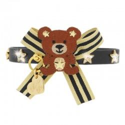TEDDY GOLD STARS COLLAR...