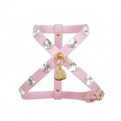HEARTS HARNESS PINK...
