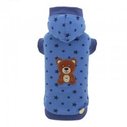 TEDDY BLUE STARS SWEATSHIRT
