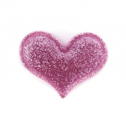 MAGIC PINK HEART HAIRCLIP