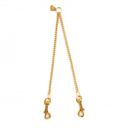 TWICE CHAIN LEASH GOLD