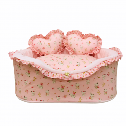 SWEET BUNNY PINK COTTON BED