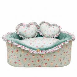 SWEET BUNNY MINT COTTON BED