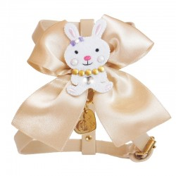 BUNNY ON BOW HARNESS COOKIE...