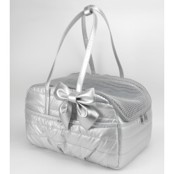 TRAVEL BAG SILVER ECODOWN/GOLD