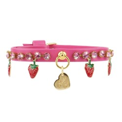 STRAWBERRY COLLAR FUCSIA...