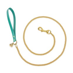 CHAIN LEASH EMERALD...
